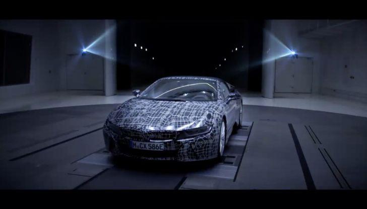 BMW i8 Roadster, l'ibrida dell'Elica verso l'evoluzione - Foto 9 di 12