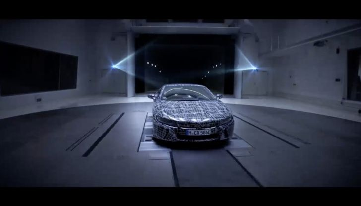 BMW i8 Roadster, l'ibrida dell'Elica verso l'evoluzione - Foto 10 di 12