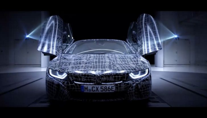 BMW i8 Roadster, l'ibrida dell'Elica verso l'evoluzione - Foto 1 di 12