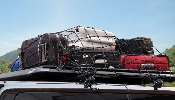 Bagagli sul tetto auto: normativa e contravvenzioni - Foto 4 di 9