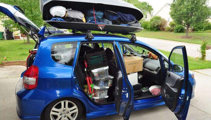 Bagagli sul tetto auto: normativa e contravvenzioni - Foto 9 di 9