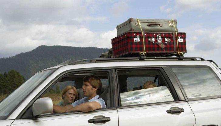 Bagagli sul tetto auto: normativa e contravvenzioni - Foto 3 di 9