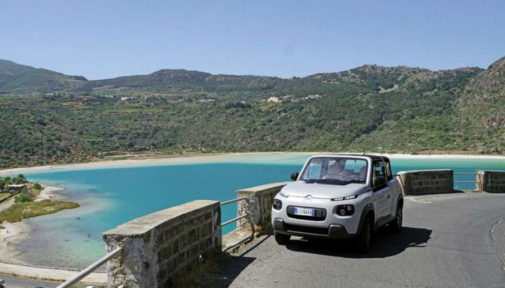 Citroën E-Mehari per l'amministrazione comunale di Pantelleria - Foto 4 di 5