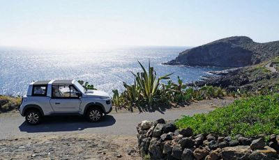 Citroën E-Mehari per l'amministrazione comunale di Pantelleria