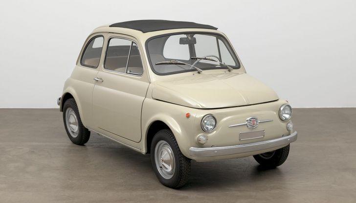 Fiat 500, al MoMA di New York l'iconica citycar - Foto 21 di 27