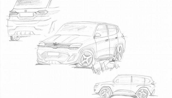 Fiat Storm, il rendering: Crossover su base Renegade per il marchio torinese - Foto 3 di 3