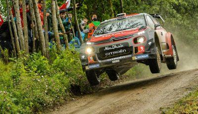 WRC Finlandia: le C3 WRC pronte ad affrontare i salti della terra dei 1000 laghi