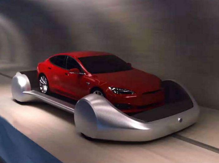 Gli autobus sotterranei di Elon Musk - Foto 1 di 7
