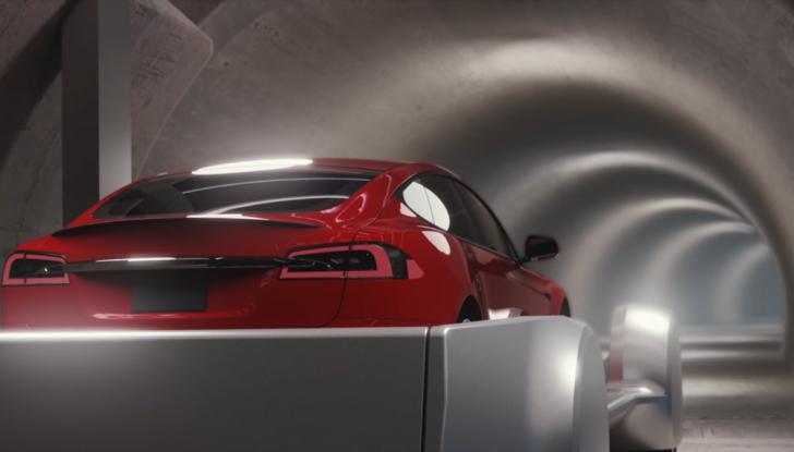 Gli autobus sotterranei di Elon Musk - Foto 3 di 7