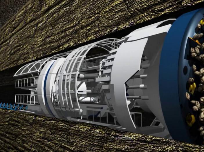 Gli autobus sotterranei di Elon Musk - Foto 5 di 7