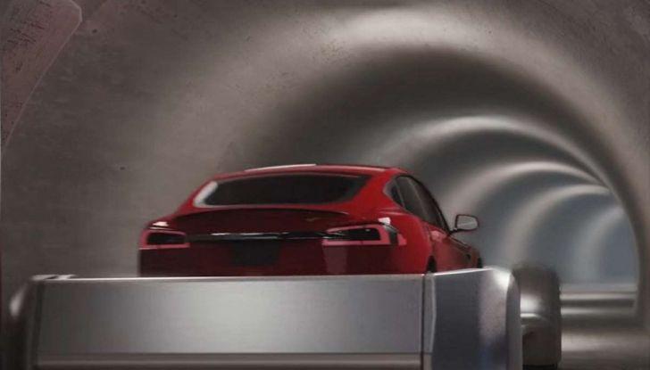 Gli autobus sotterranei di Elon Musk - Foto 6 di 7