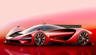 Ipotesi P3 Scuderia Baldini, hypercar Ferrari del futuro
