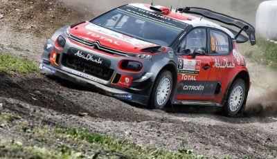 WRC Polonia - Giorno 2: tra i tempi migliori i 3 piloti delle Citroën C3 WRC