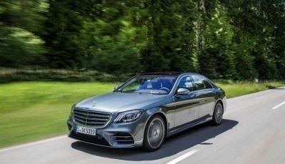 Nuova Mercedes Classe S MY2018: il restyling dell'ammiraglia