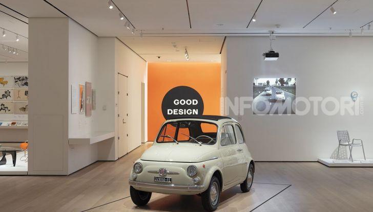 Fiat 500, al MoMA di New York l'iconica citycar - Foto 1 di 27