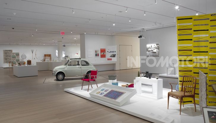 Fiat 500, al MoMA di New York l'iconica citycar - Foto 3 di 27