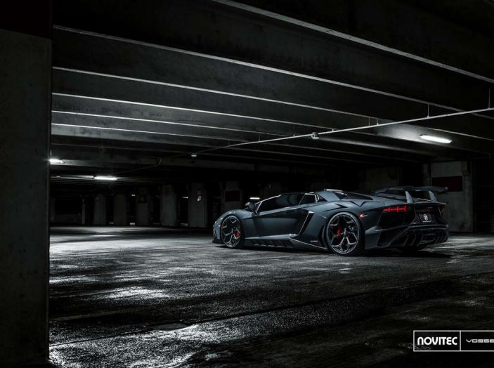 Lamborghini Aventador Novitec Torado, tuning da 970 CV - Foto 6 di 8