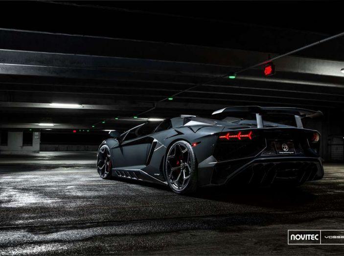 Lamborghini Aventador Novitec Torado, tuning da 970 CV - Foto 2 di 8