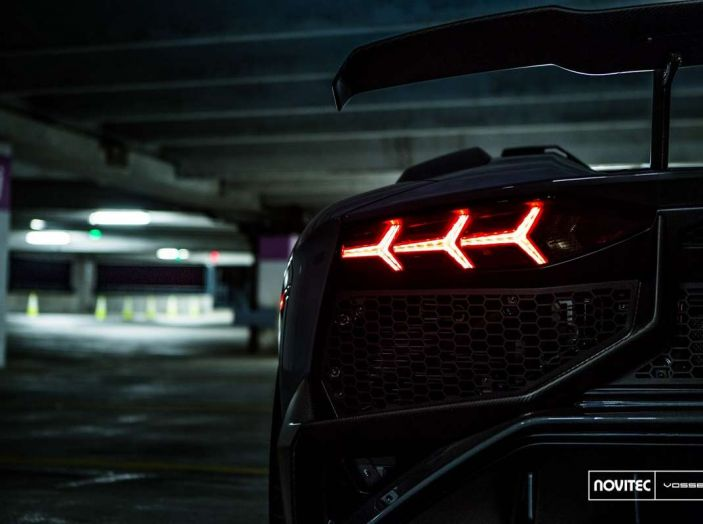 Lamborghini Aventador Novitec Torado, tuning da 970 CV - Foto 8 di 8