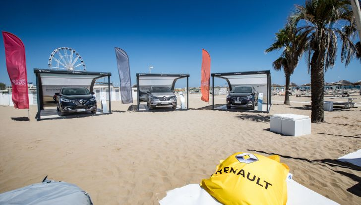Nuovo Renault Koleos protagonista del Renault Vertical Summer Tour 2017 - Foto 7 di 28