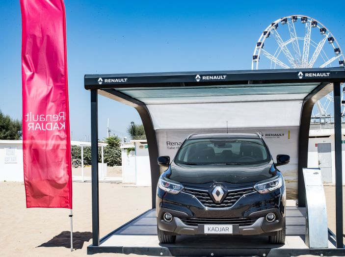 Nuovo Renault Koleos protagonista del Renault Vertical Summer Tour 2017 - Foto 17 di 28