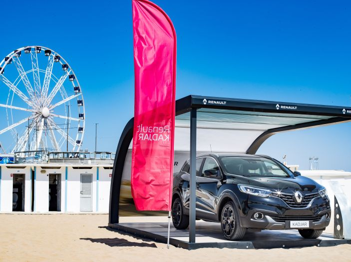 Nuovo Renault Koleos protagonista del Renault Vertical Summer Tour 2017 - Foto 11 di 28