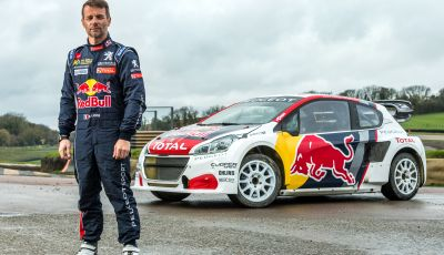 Un week end di gara del Rallycross vissuto con Loeb