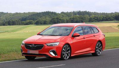 Opel Insignia GSi Sports Tourer, informazioni sulla station wagon sportiva