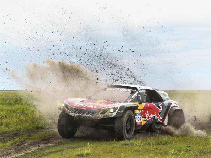 La Peugeot 3008DKR Maxi vince per la terza volta su 4 tappe al Silk Way Rally - Foto 2 di 5