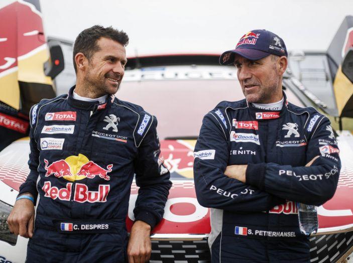 Silk Way Rally – i commenti a caldo dei protagonisti Peugeot - Foto 1 di 2