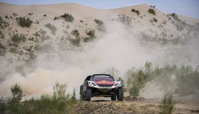 "Team Peugeot Total al Silk Way Rally: ""Una nona tappa molto complicata"""