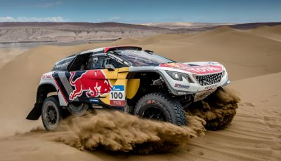 PEUGEOT VINCE IL SILK WAY RALLY 2017!