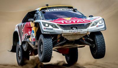 Peugeot salda al comando nella nona tappa del Silk Way Rally