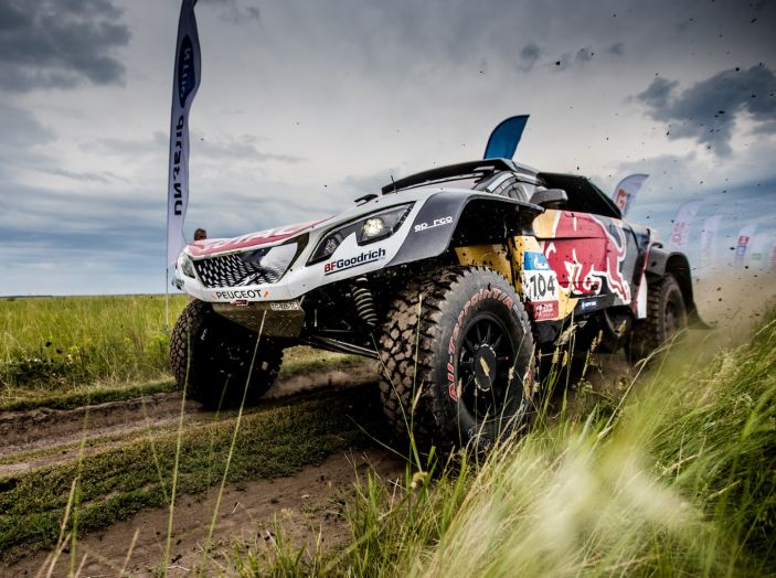 La Peugeot 3008DKR Maxi vince per la terza volta su 4 tappe al Silk Way Rally - Foto 1 di 5