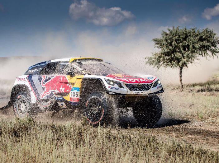Doppio podio per il Team Peugeot Total al Silk Way Rally - Foto 1 di 2
