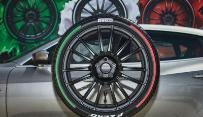 Pirelli colora i pneumatici degli ambasciatori italiani