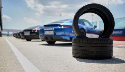Porsche e Michelin a Misano, il test: binomio vincente!