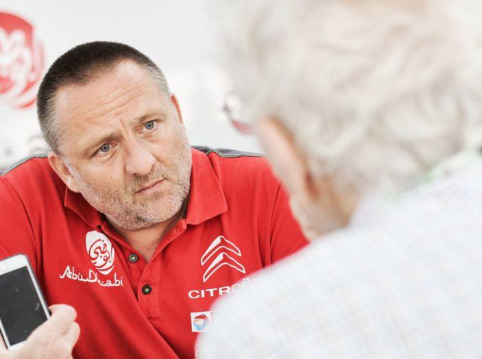 WRC Finlandia: le dichiarazioni a fine gara del team Citroën - Foto 1 di 4