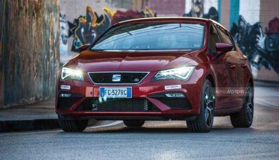 Nuova Seat Leon TGI a Metano 2019: più autonomia e prezzi da 24.415€