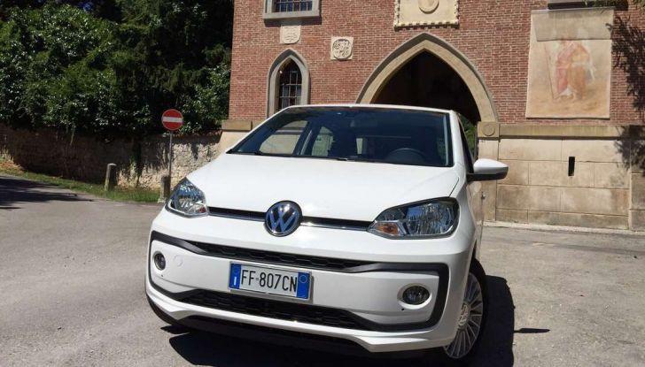 Volkswagen eco up! provata su strada la più ecologica citycar a metano - Foto 46 di 49