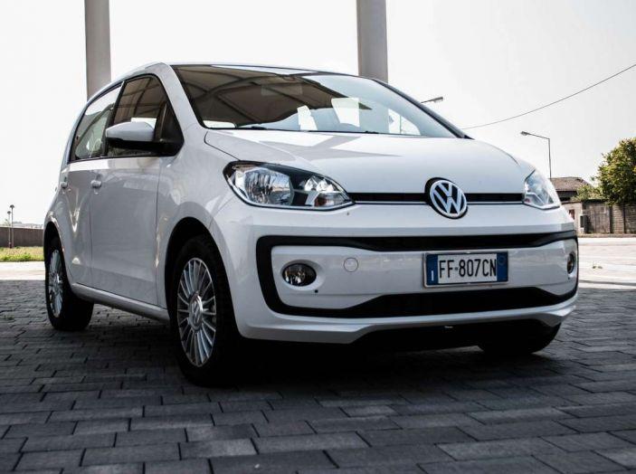 Volkswagen eco up! provata su strada la più ecologica citycar a metano - Foto 2 di 49