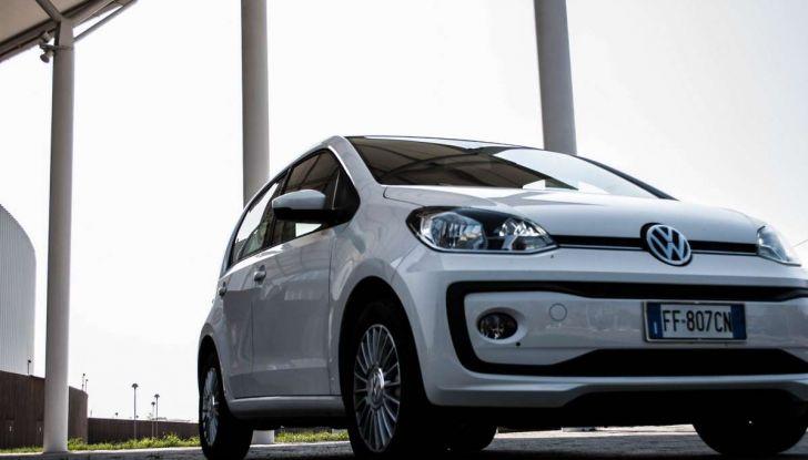 Volkswagen eco up! provata su strada la più ecologica citycar a metano - Foto 11 di 49