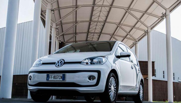 Volkswagen eco up! provata su strada la più ecologica citycar a metano - Foto 21 di 49