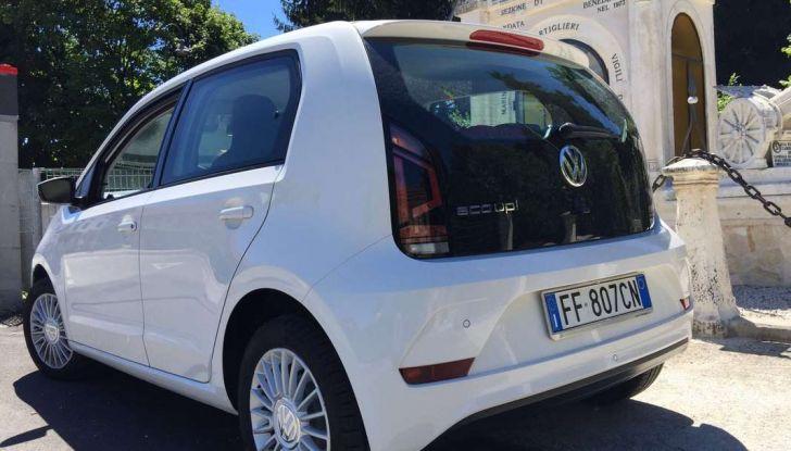 Volkswagen eco up! provata su strada la più ecologica citycar a metano - Foto 39 di 49