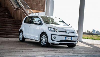 Volkswagen eco up! provata su strada la più ecologica citycar a metano
