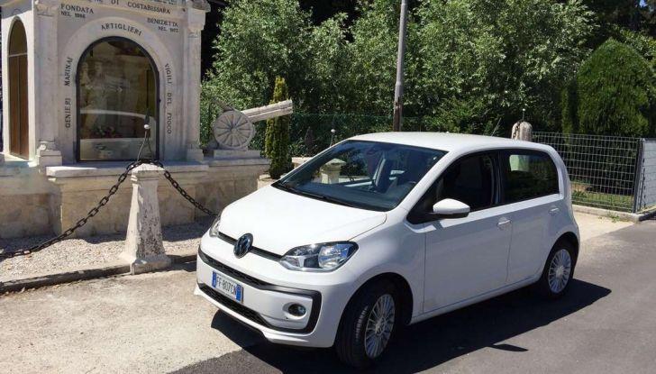 Volkswagen eco up! provata su strada la più ecologica citycar a metano - Foto 41 di 49