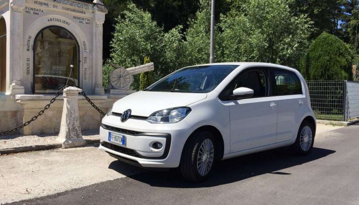 Volkswagen eco up! provata su strada la più ecologica citycar a metano - Foto 42 di 49