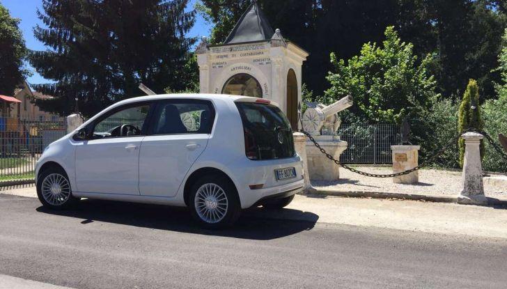 Volkswagen eco up! provata su strada la più ecologica citycar a metano - Foto 43 di 49