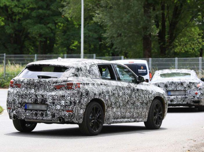 BMW X2 2018, le prime foto spia del SUV coupé - Foto 2 di 14