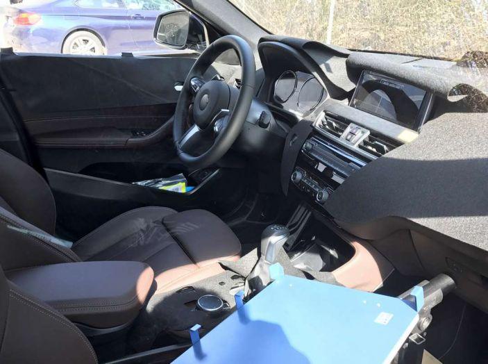 BMW X2 2018, le prime foto spia del SUV coupé - Foto 10 di 14